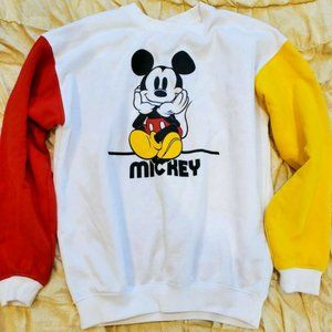 Vintage Disney Mickey Mouse Sweatshirt Size S